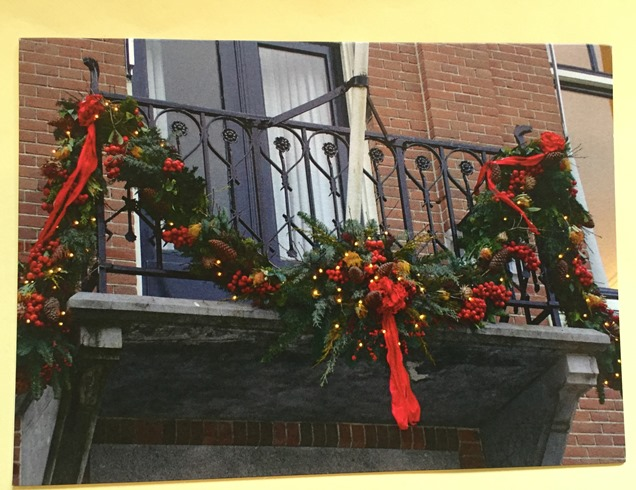 Z Dutch Christmas Balcony Card